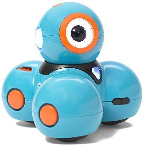 """<p><strong>Wonder Workshop</strong></p><p>blacktoystore.com</p><p><strong>$149.95</strong></p><p><a href=""""https://blacktoystore.com/product/dash-coding-robot/"""" rel=""""nofollow noopener"""" target=""""_blank"""" data-ylk=""""slk:Shop Now"""" class=""""link rapid-noclick-resp"""">Shop Now</a></p><p>This robot from Wonder Workshop helps promote STEM skills and keep kids busy for hours using the included suite of free apps. Kids can get comfortable with all of Dash's functions first, and then <strong>they can explore various levels of robotics and coding. </strong>Good news, parents: The robot comes charged right out of the box. <em>Ages 6+</em></p>"""