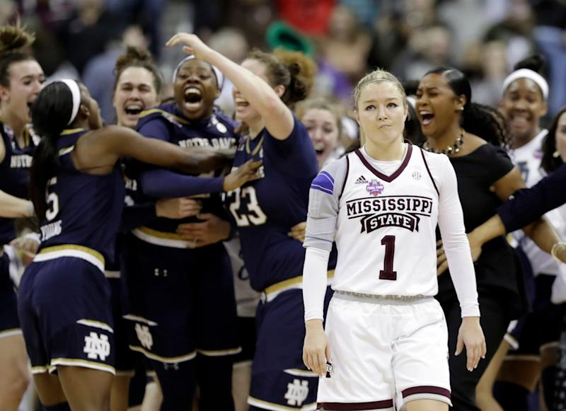 NCAA Latest: Michigan's Robinson played for DIII title, too