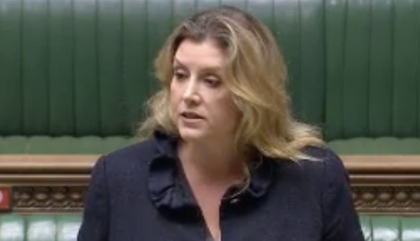 Penny Mordaunt, responding to Ian Blackford, flatly ruled out an extension to the transition period. (Parliamentlive.tv)
