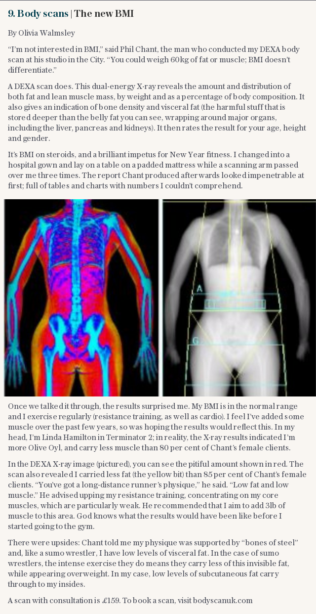 Body scans | The new BMI