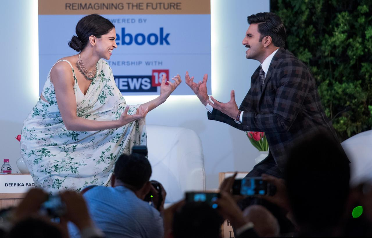 <p>Around the same time, in October 2013, Ranveer was diagnosed with dengue. When he was recovering in hospital, Deepika paid him a visit. After he was released from hospital, Ranveer said in an interview that he was suffering from 'Loveria.' Love heals, and now we know it! </p>