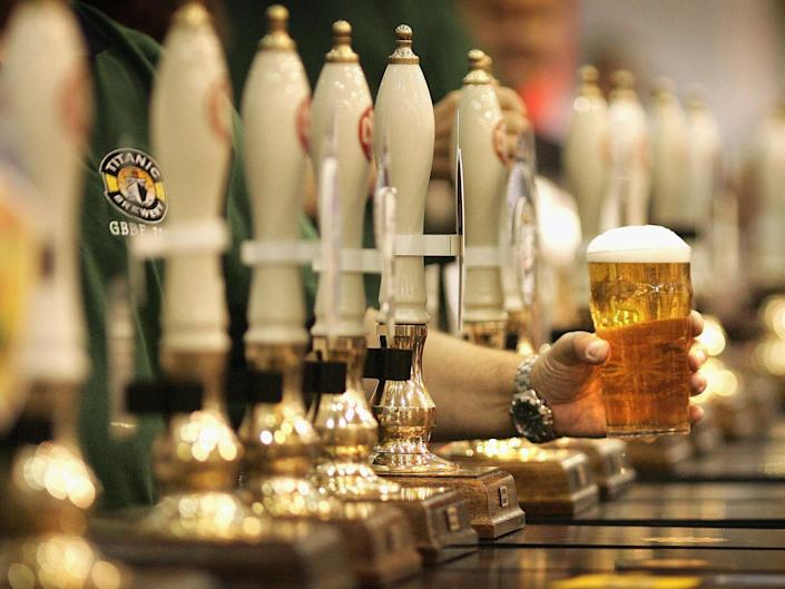 A pint a day may keep the doctor away when it comes to some cardiovascular diseases: Getty
