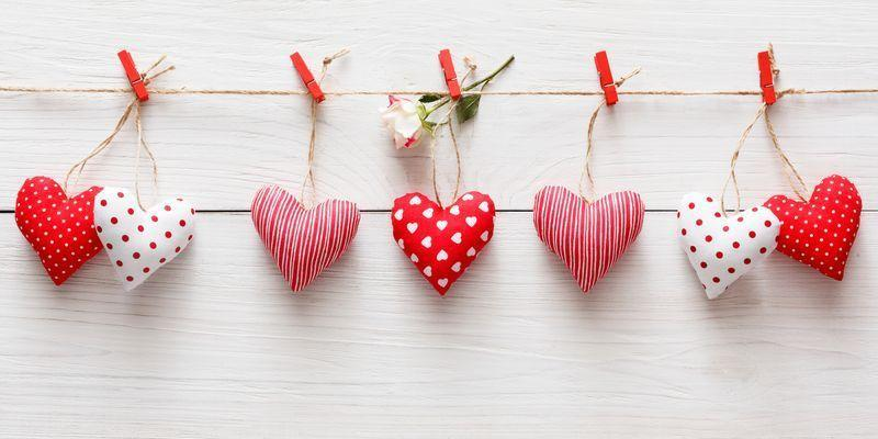 """<p>Love is in the air, you've been working on those <a href=""""https://www.countryliving.com/diy-crafts/how-to/g2963/diy-valentines-day-cards/"""" rel=""""nofollow noopener"""" target=""""_blank"""" data-ylk=""""slk:DIY Valentine's Day cards"""" class=""""link rapid-noclick-resp"""">DIY Valentine's Day cards</a> for weeks, and February 14 is just around the corner. So to celebrate the big day, why not fill your house with Valentine's Day decorations fit for the season? Whether you're in the market for romantic bedroom ideas or cute, simple <a href=""""https://www.countryliving.com/diy-crafts/how-to/g1584/valentines-day-crafts-for-kids/"""" rel=""""nofollow noopener"""" target=""""_blank"""" data-ylk=""""slk:Valentine's Day crafts for kids"""" class=""""link rapid-noclick-resp"""">Valentine's Day crafts for kids</a>, you've come to the right place. We've rounded up our all-time favorite easy projects for Valentine's Day, and we can practically guarantee there's at least one idea on our list you'll be excited to start working on . </p><p>How can we be so sure that these are the best DIY Valentine's Day decorations around, you ask? Well, for starters, they're just plain adorable—that's how! But the most interesting thing about them (and the reason why we know you'll love having them in your home!) is that you can easily extend their lifespan well beyond Valentine's Day, and even past the winter season. Transform old, chipped siding into a """"wooden kiss,"""" for instance, and you'll have a gorgeous, rustic decor piece that doesn't only have to function as part of your Valentine's Day party backdrop. Turn a treasured love letter into a stunning, framed work of art, and you've got yourself a <a href=""""https://www.countryliving.com/diy-crafts/g1093/valentine-day-crafts/"""" rel=""""nofollow noopener"""" target=""""_blank"""" data-ylk=""""slk:Valentine's Day craft"""" class=""""link rapid-noclick-resp"""">Valentine's Day craft</a> (that can also be a <a href=""""https://www.countryliving.com/shopping/gifts/g1416/valentines-day-gifts/"""" rel=""""nofollow noopener"""" target="""