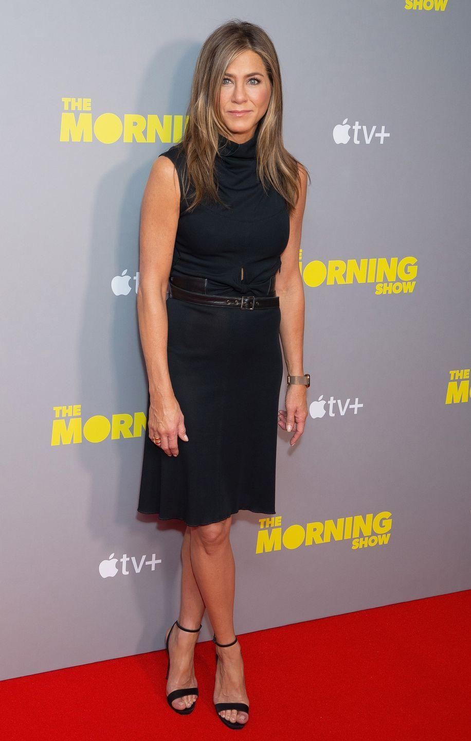 "<p>""I do intermittent fasting, so no food in the morning,"" Jennifer told UK outlet <a href=""https://www.womenshealthmag.com/weight-loss/a29547718/jennifer-aniston-reese-witherspoon-intermittent-fasting/"" rel=""nofollow noopener"" target=""_blank"" data-ylk=""slk:Radio Times"" class=""link rapid-noclick-resp"">Radio Times</a>. ""I noticed a big difference in going without solid food for 16 hours.""</p>"