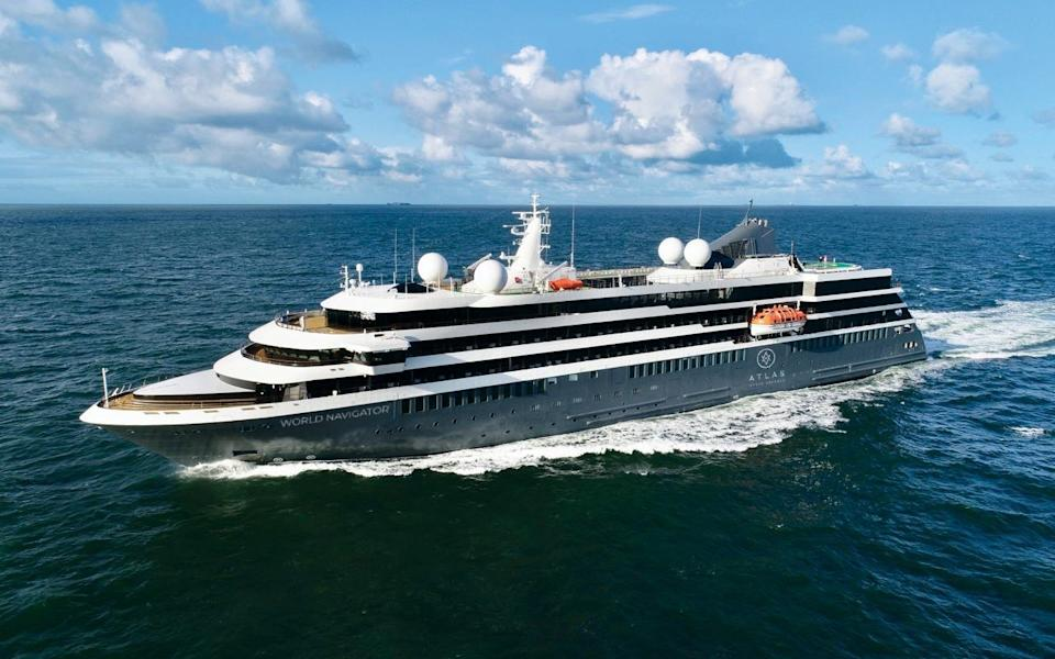 World Navigator is the first ship for a brand new cruise line - ATLAS OCEAN VOYAGES