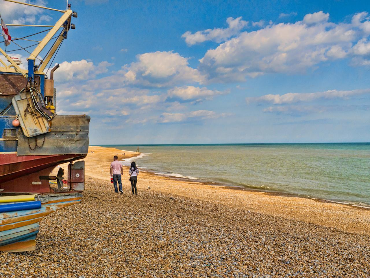<p>Golden beaches and a healthy dose of history make for a good relaxation and educational experience at Hastings.<br /><i>[Photo: Flickr/Dennis Freeland]</i> </p>