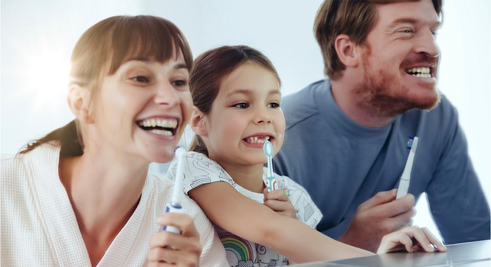 The number one Oral-B electric toothbrush is now on sale on Amazon. (Getty Images)