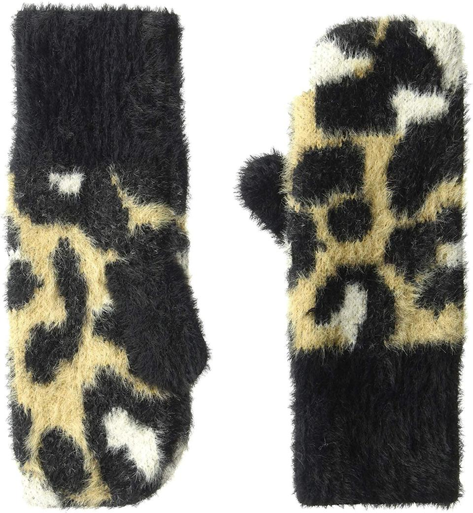 <p>These <span>Amazon Brand Daily Ritual Fuzzy Knit Mittens</span> ($17) are incredibly soft.</p>