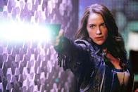 <p>I'm very proud of the female representation on Wynonna Earp — has there ever been a western with more women running around firing guns and kicking ass? — and I like to think we handled the LGBT storyline delicately with grace and good spirit. (Credit: Michelle Faye/Syfy/Wynonna Earp Productions) </p>