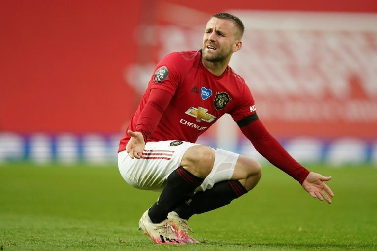 Manchester United defender Luke Shaw is out of action after suffering an injury at Everton