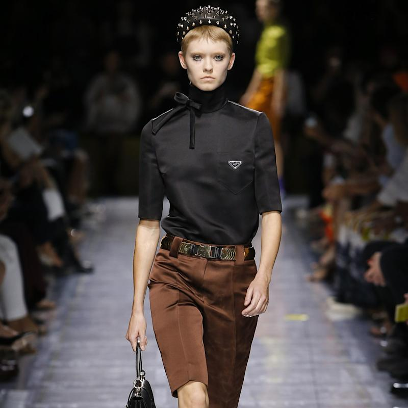 Do Black and Brown Go Together? 20 Years of Prada Shows Say Yes