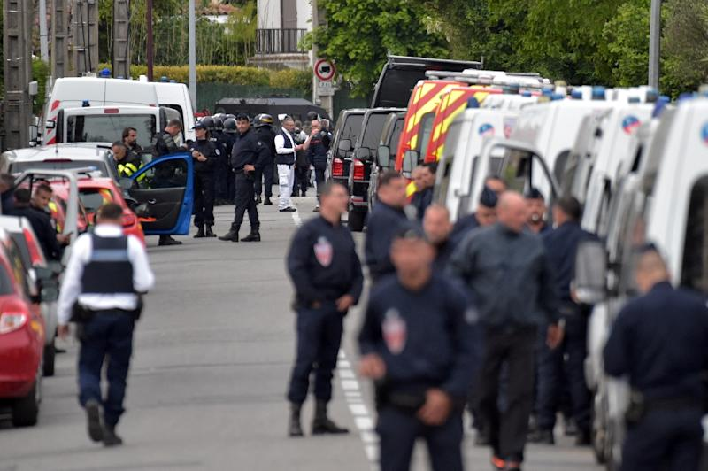 Armed teenager releases four hostages in southern France: police source