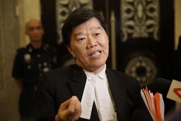 Jill Ireland Lawrence Bill's lawyer Lim Heng Seng (pic) said the High Court had made its decision in accordance with a previous ruling by the Court of Appeal. ― Picture by Choo Choy May