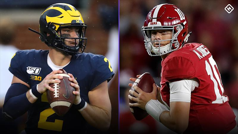 What channel is Alabama vs. Michigan on today? Time, TV schedule for Citrus Bowl 2020