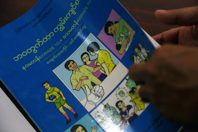 Unchaperoned teens, gay partners and sex workers -- fictional characters in a new curriculum for Myanmar schools are causing a real-world tussle over morality in a deeply conservative nation
