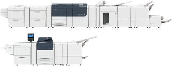 Versant 3100i Press (top) and Versant 180i Press (bottom)