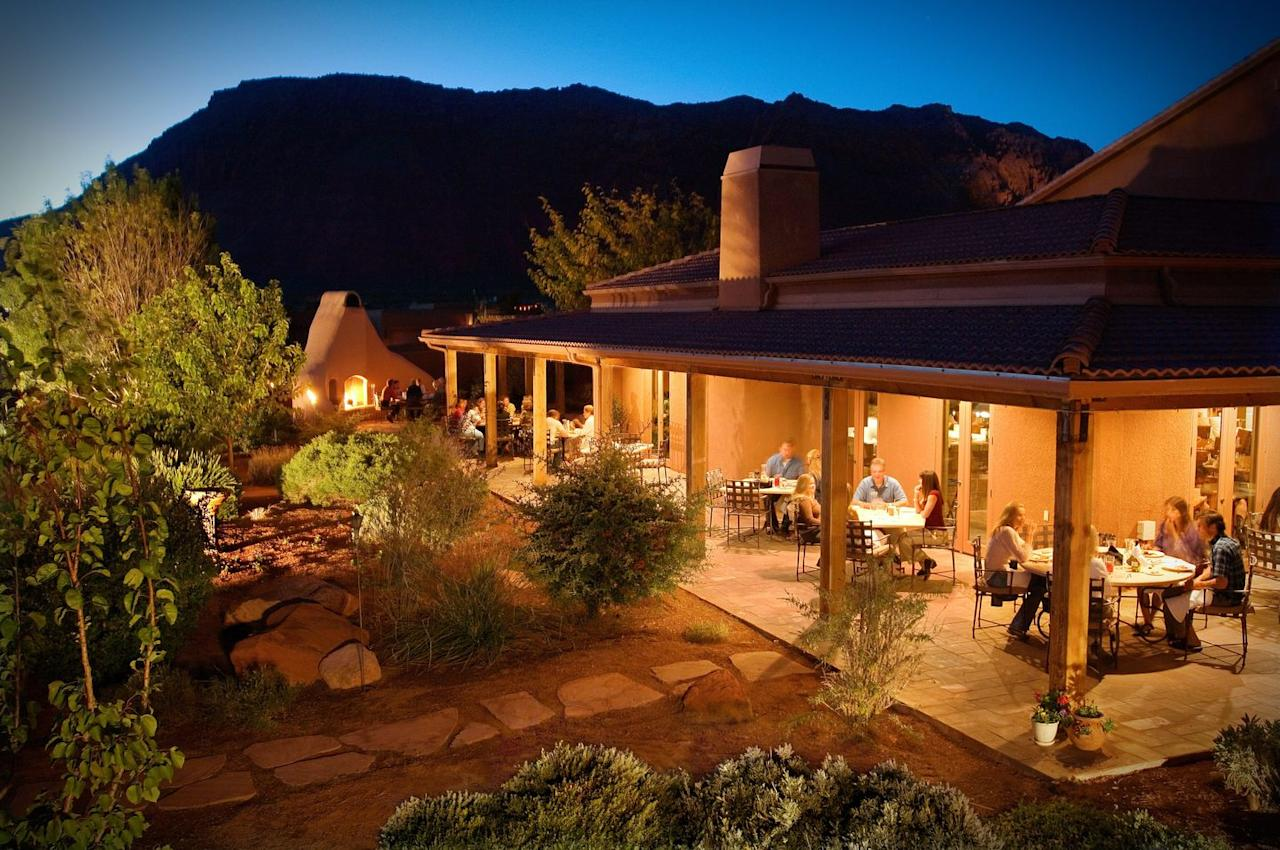 """<p><strong>St. George, Utah<br>Rate estimate: $140+ per night</strong></p><p>The <a href=""""https://www.redmountainresort.com"""" target=""""_blank"""">Red Mountain Resort</a> itself is devoted to health and wellness—there are fitness programs, a spa, even a labyrinth you can walk—and its location can't be beat. Near Zion and Bryce Canyon National Parks, the resort <strong>offers guided adventure trips (kayaking, canyoneering, rock climbing) </strong>to help you make the most of your stay.</p>"""