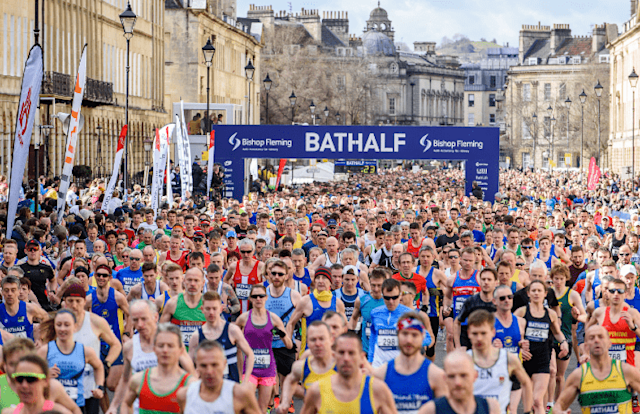 Credit : Bath Half Marathon FB