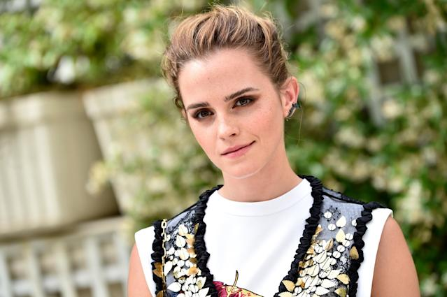 <p>While studying at Brown University, Actress Emma Watson joined the school's field hockey club in 2010. </p>