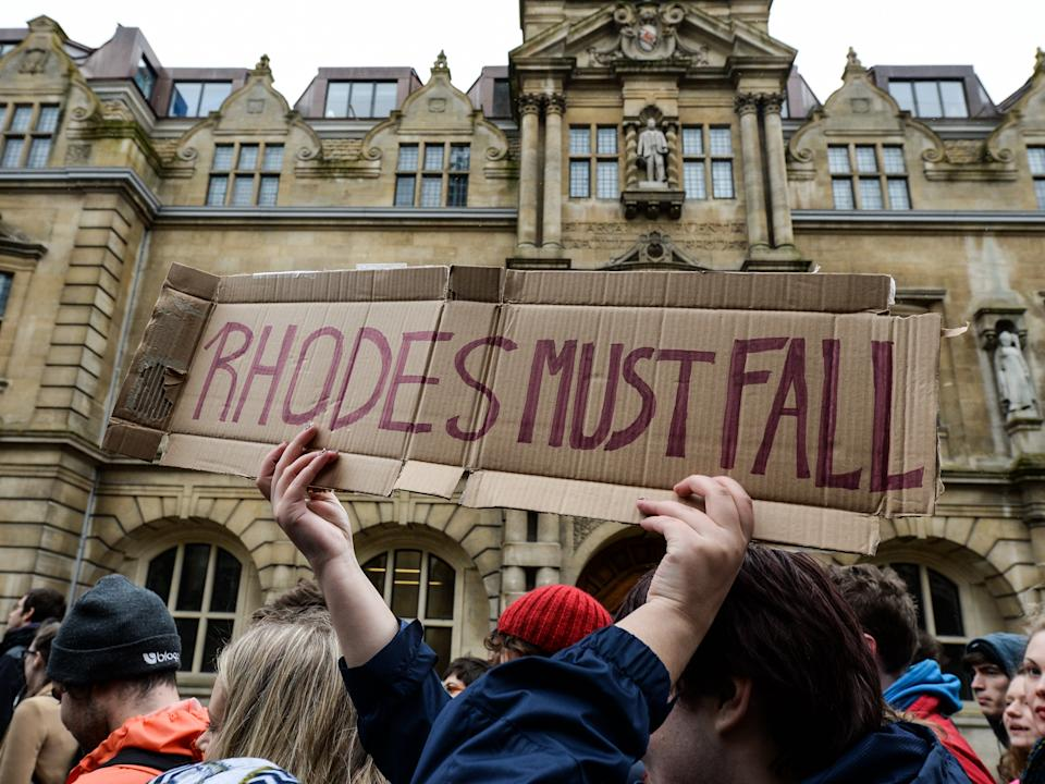 <p>Oxford University was forced to reassess its teachings of race after calls for a statue of Cecil Rhodes to be removed went viral</p>Getty