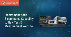 Buy Test Equipment Online with Electro Rent