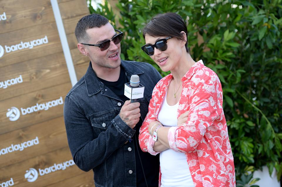 LONDON, ENGLAND - JULY 01:  Matt Willis and Emma Willis enjoying Barclaycard Exclusive area at Barclaycard presents British Summer Time Hyde Park at Hyde Park on July 1, 2017 in London, England.  (Photo by Eamonn M. McCormack/Getty Images for Barclaycard)
