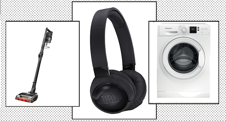 Curry's has launched a huge early Black Friday sale, with discounts on washing machines, headphones, and other electricals.  (Curry's)