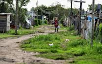Poverty is soaring in Argentina and almost half of the 1.7 million inhabitants of La Matanza live in poverty
