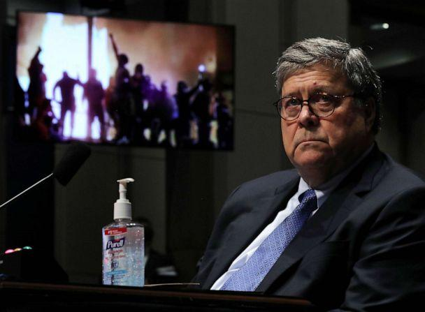 PHOTO: Attorney General William Barr during a the House Judiciary Committee hearing July 28, 2020 in Washington, D.C. (Chip Somodevilla/Getty Images)
