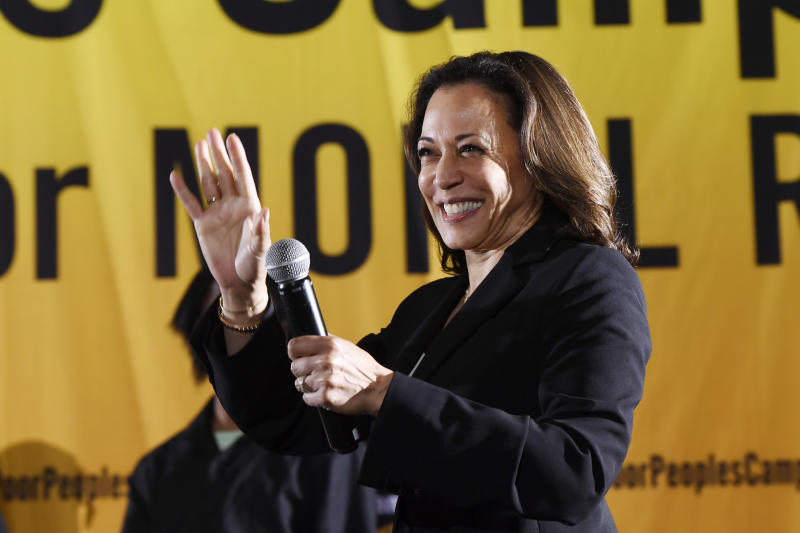 Election 2020 Kamala Harris Black Colleges