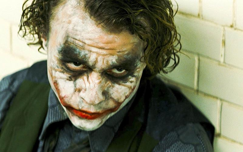 Heath Ledger as the Joker in The Dark Knight - Copyright (c) 2008 Rex Features. No use without permission.