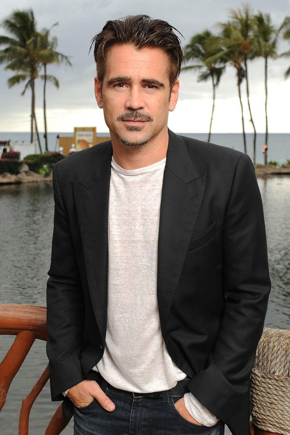 """<p>The Irish actor opened up about celebrating 10 years of his sobriety on <a href=""""http://ew.com/tv/2017/05/07/colin-farrell-sobriety-ellen-degeneres/"""" rel=""""nofollow noopener"""" target=""""_blank"""" data-ylk=""""slk:Ellen"""" class=""""link rapid-noclick-resp"""">Ellen</a> after years of previously struggling with his addiction when he first got to Hollywood. Farrell also admits his coping mechanism: 'Now I do a bit of yoga, I like a nice hike and I drink dragon nasal juice.'</p><p>H/T: <a href=""""http://www.telegraph.co.uk/culture/film/10651084/Colin-Farrell-Im-glad-the-madness-is-over.html"""" rel=""""nofollow noopener"""" target=""""_blank"""" data-ylk=""""slk:The Telegraph"""" class=""""link rapid-noclick-resp"""">The Telegraph</a></p>"""