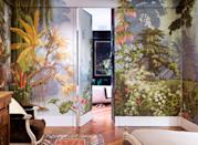"""<p>Fans of the London-based textiles firm <a href=""""https://www.degournay.com/"""" rel=""""nofollow noopener"""" target=""""_blank"""" data-ylk=""""slk:de Gournay"""" class=""""link rapid-noclick-resp"""">de Gournay</a> have good reason to celebrate this fall: the company has released a stunning new book, <em><a href=""""https://www.amazon.com/Gournay-Everlasting-Beauty-Hand-Painted-Interiors/dp/0847867900"""" rel=""""nofollow noopener"""" target=""""_blank"""" data-ylk=""""slk:de Gournay: Hand-Painted Interiors"""" class=""""link rapid-noclick-resp"""">de Gournay: Hand-Painted Interiors</a></em> (Rizzoli). The Technicolor work, packed with moments of grace and whimsy, features the flora, the fauna, and—yes—the occasional flock of flamingos that famously populate the brand's coveted hand-painted wallcoverings. (There are armadas of ships too, including one depiction of Captain Cook sailing along the gilded paper walls of London's Ned Hotel.) Projects featured in the book include those by <em>ELLE Decor</em> <a href=""""https://www.elledecor.com/design-decorate/interior-designers/g3076/a-list-interior-designers/"""" rel=""""nofollow noopener"""" target=""""_blank"""" data-ylk=""""slk:A-List"""" class=""""link rapid-noclick-resp"""">A-List</a> designers such as <a href=""""https://www.elledecor.com/design-decorate/house-interiors/a27377003/alessandra-branca-chicago-lake-shore-drive-house-tour/"""" rel=""""nofollow noopener"""" target=""""_blank"""" data-ylk=""""slk:Alessandra Branca"""" class=""""link rapid-noclick-resp"""">Alessandra Branca</a> and <a href=""""https://www.elledecor.com/design-decorate/house-interiors/a24168033/beverly-hills-home-miles-redd/"""" rel=""""nofollow noopener"""" target=""""_blank"""" data-ylk=""""slk:Miles Redd"""" class=""""link rapid-noclick-resp"""">Miles Redd</a>, among many others. Long a favorite of the fashion world—readers will also get a glimpse of Kate Moss's walls, featuring hand-painted anemones—de Gournay's prints have of late jumped from stylish homes onto Aquazzura shoes and dresses by Erdem.</p><p> In the book, company founder Claud Cecil Gurney tells the story of de """
