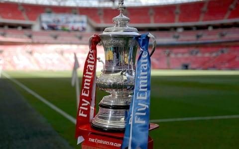 <span>FA Cup semi-finals could potentially be played elsewhere</span> <span>Credit: AP </span>