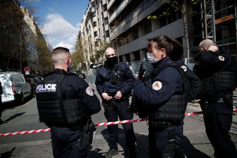 One person shot dead in front of Paris hospital