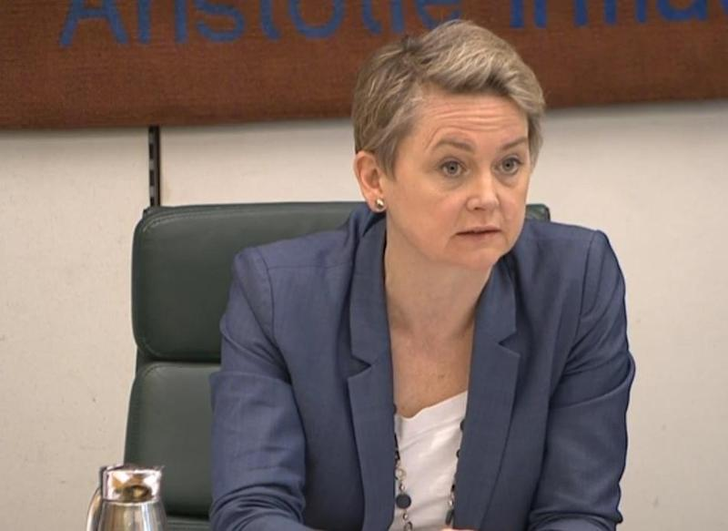 "Labour's Yvette Cooper, chairwoman of the Commons home affairs committee, said the situation was ""appalling"" (parliamentlive.tv)"