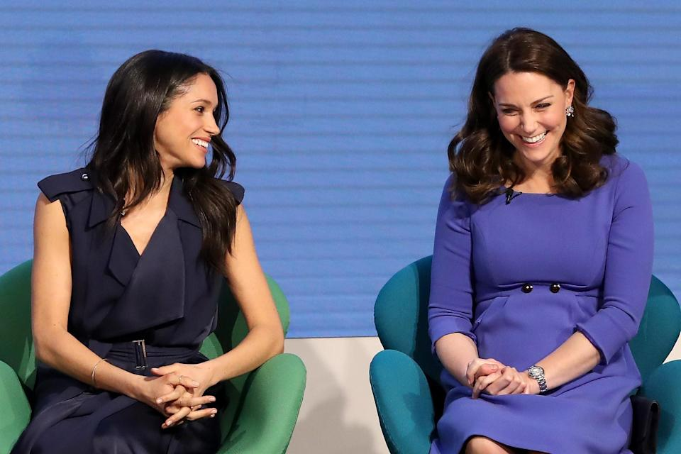 Meghan Markle reportedly gave the Duchess of Cambridge a gift to mark her wedding day. [Photo: Getty]