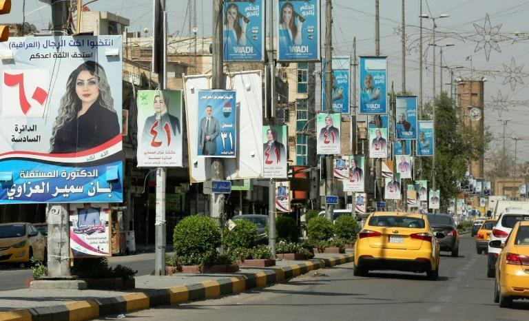 Iraqis will vote on October 10 in parliamentary elections that have been brought forward by authorities to calm an anti-government protest movement (AFP/Sabah ARAR)