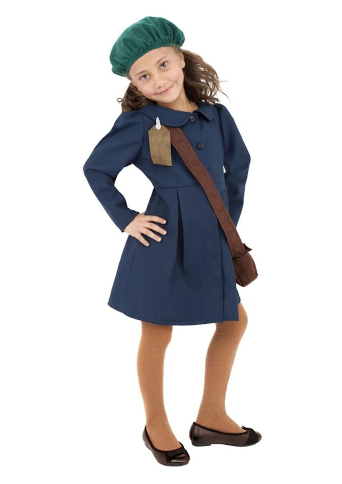 <p>Retailers have faced a huge backlash for this Anne Frank costume which is designed to make children look like the most well-known Holocaust victim. The outfit – which is made up of a blue dress, beret and crossbody bag – has alternatively been called 'World War Two Child Evacuee'. Not much better, really.<br /><i>[Photo: Halloween Costumes]</i> </p>
