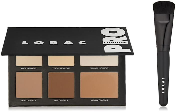 <p>Contour and highlight like a pro with this <span>Lorac Pro Contour Palette &amp; Contour Brush</span> ($45). </p>