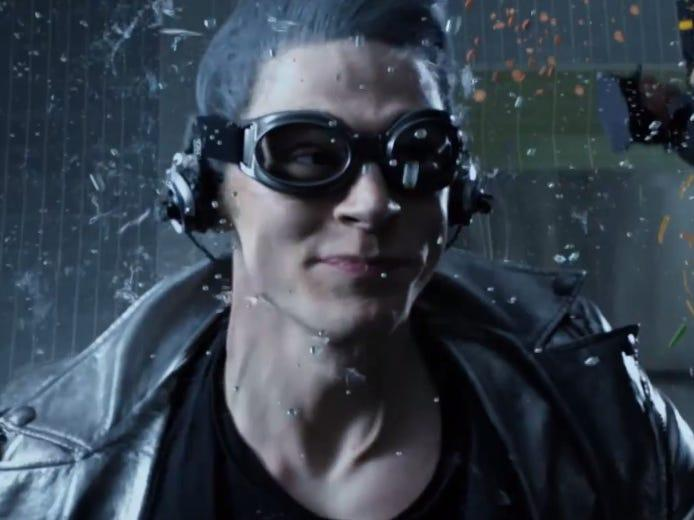 "Evan Peters in ""X-Men: Days of Future Past."""