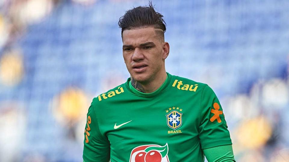 Ederson con Brasil | Quality Sport Images/Getty Images