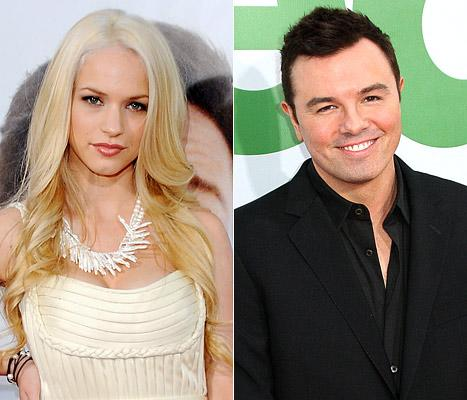 Alexis Knapp Hooked Up With Seth MacFarlane!