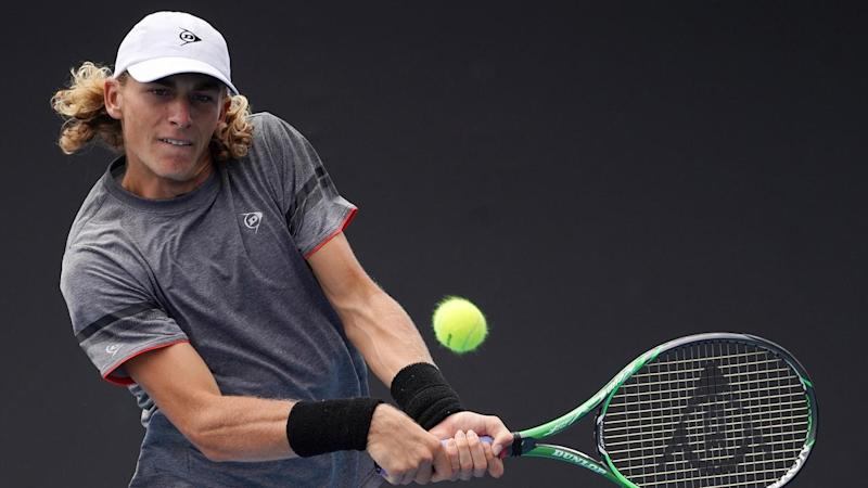 Max Purcell beat Jozef Kovalik in qualifying to earn a grand slam debut at the Australian Open