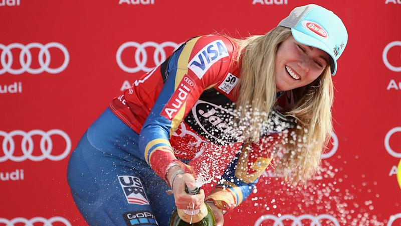 Shiffrin to win overall title with Stuhec skipping slalom