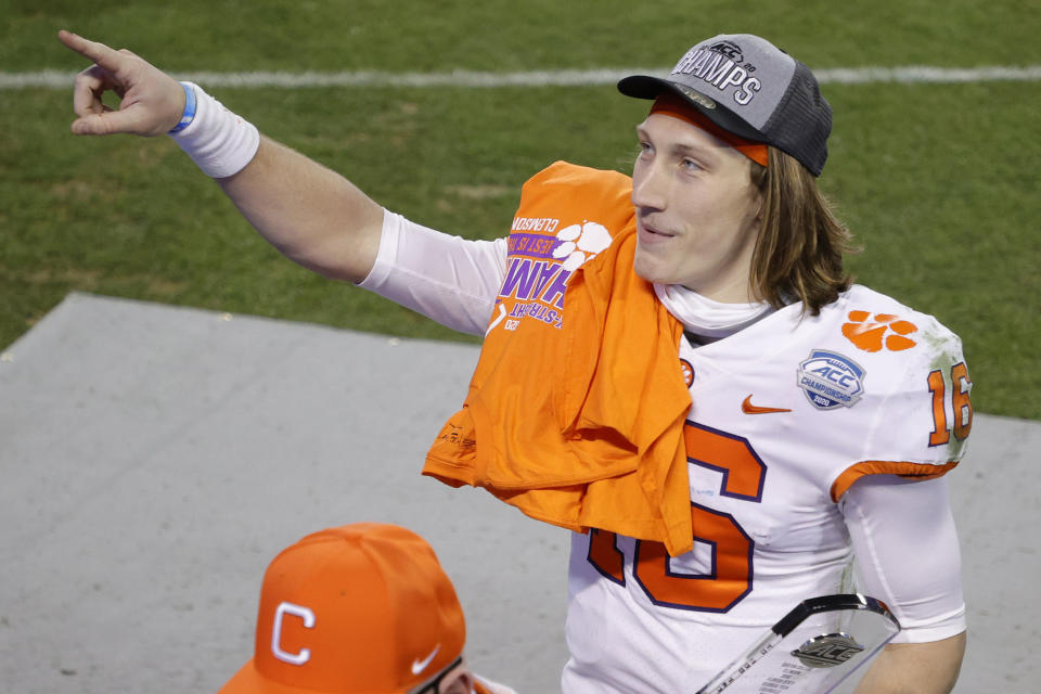 The Jets might lose out on Clemson QB Trevor Lawrence, but not all hope is lost. (Photo by Jared C. Tilton/Getty Images)
