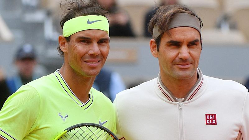 Rafael Nadal, who just defeated Roger Federer in Paris, is unhappy to be seeded below him at Wimbledon. Pic: Getty