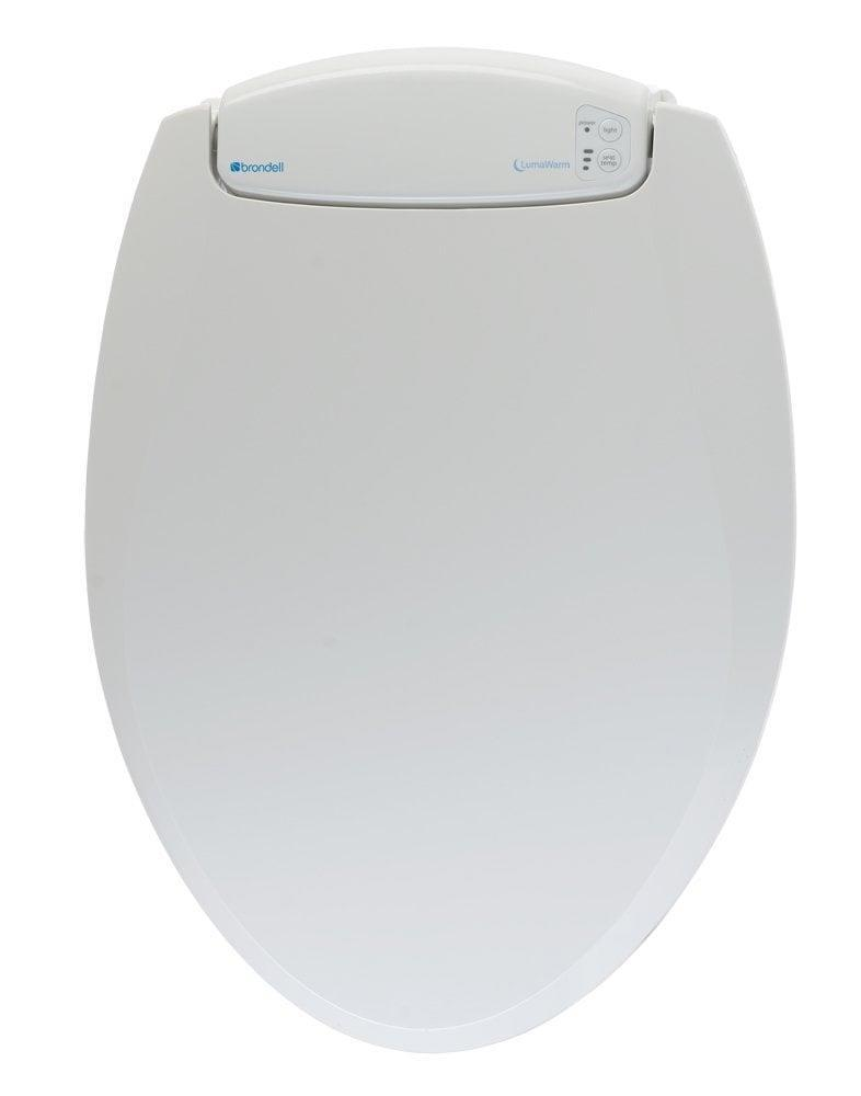 <p>If you enjoy the finer things in life, treat yourself to this <span>Brondell LumaWarm Heated Nightlight Round Toilet Seat</span> ($140).</p>