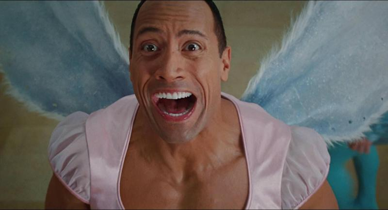 The Rock in Tooth Fairy