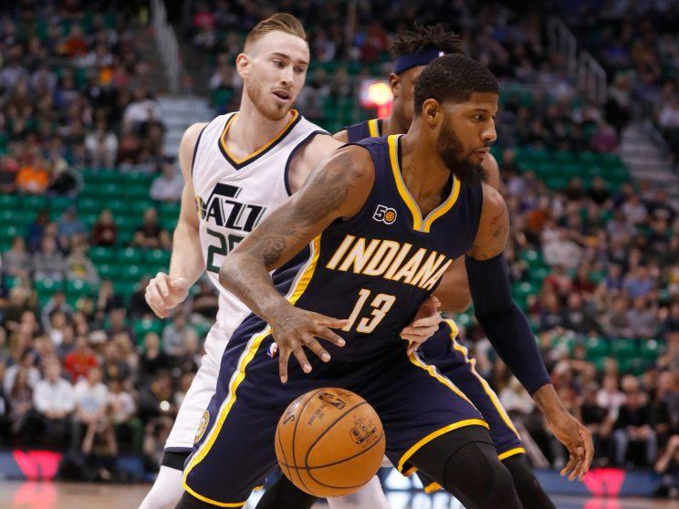 The Celtics' Plan A reportedly includes signing Gordon Hayward and trading for Paul George. (AP)